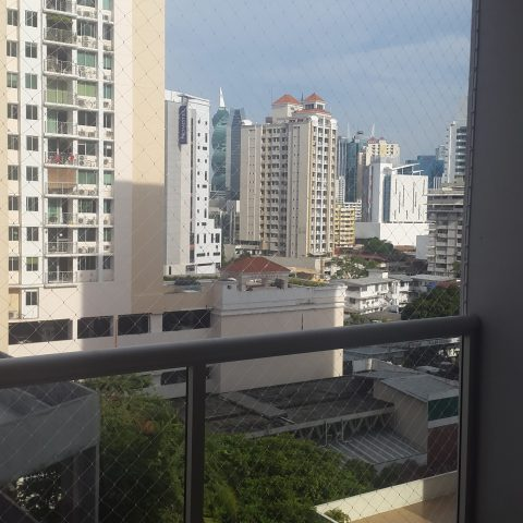 Malla de seguridad en balcón - PH Cangrejo Bay